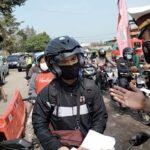 Hari Pertama Penyekatan di Jalur Nasional Mojokerto, 35 Kendaraan Dipaksa Putar Balik