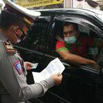 Hari Pertama Operasi Penyekatan di Blitar, 110 Kendaraan Pemudik Dihalau