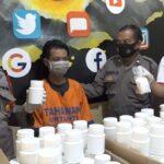 Bandar Pil Koplo di Balongbendo Sidoarjo Tertangkap, Ratusan Ribu Butir Diamankan