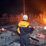 Gegara Puntung Rokok, Rumah Kakek di Situbondo Ludes Terbakar