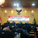 Rapat Paripuna, Wali Kota Blitar Sampaikan LKPJ 2020 ke DPRD Kota Blitar