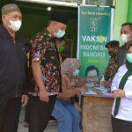 Capaian Rendah, LKNU Lumajang Bantu Percepatan dengan Vaksinasi Massal