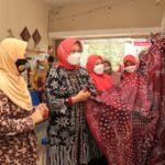 Kunjungi IKM Kota Pasuruan, Ketua Dekranasda : Kami akan Berjuang untuk Para Disabilitas