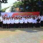 Peringati Hari Jadi PMI Ke 76, Wawali Kota Pasuruan Pimpin Gelar Pasukan